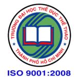 Đại học Thể dục thể thao Thành phố Hồ Chí Minh